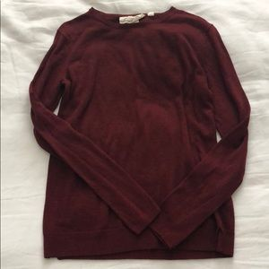 HM Red Logo sweater